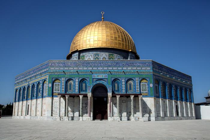 Mosque Aqsa Surrounded Al-aqsa-mosque